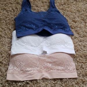 Rhonda Shear Intimates & Sleepwear - 3 bras Rhonda Shear